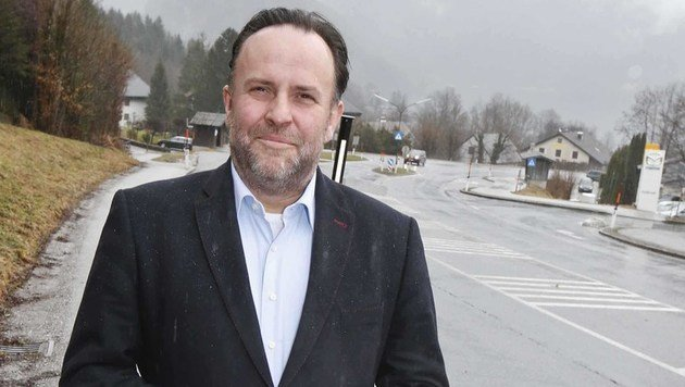 Bürgermeister Otto Kloiber steht wegen Sexismusvorwürfen im Kreuzfeuer der Kritik. (Bild: MARKUS TSCHEPP)