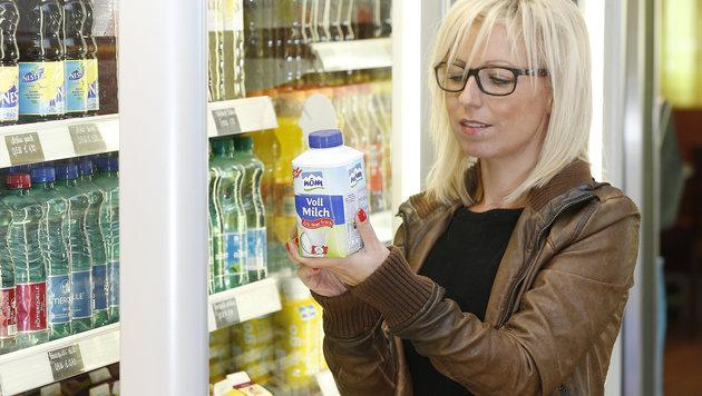 Frischmilch wird in Österreich pro Liter um zehn Cent teurer. (Bild: Reinhard Holl)