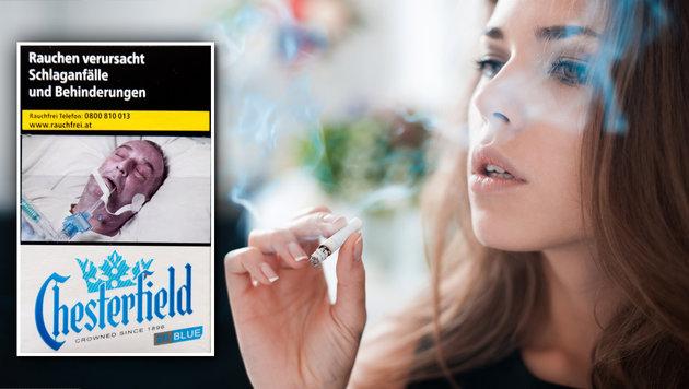 Raucher pfeifen auf die Schockbilder (Bild: Klemens Groh, thinkstockphotos.de)