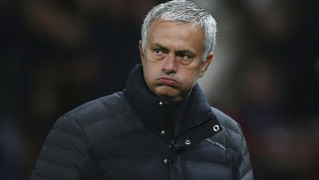 Schiri beleidigt: Sperre für Jose Mourinho! (Bild: AP)