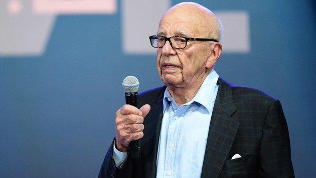Medienzar Murdoch will Bezahlsender Sky ganz (Bild: APA/AFP/FREDERIC J. BROWN)