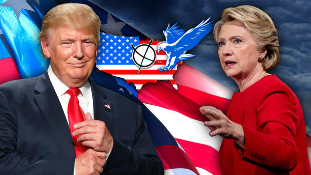 Die 10 wichtigsten Fragen zum Wahlsystem der USA (Bild: AFP/JEFF KOWALSKY, AP/Andrew Harnik, thinkstockphotos.de)