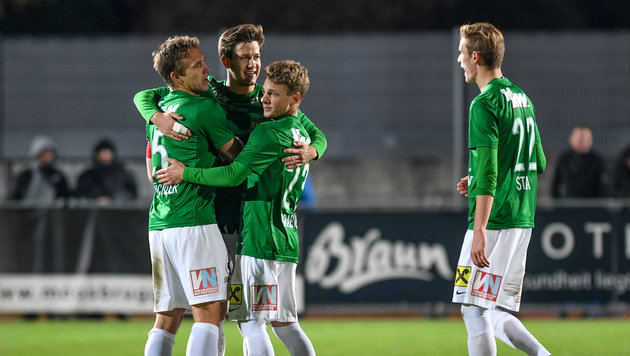 Erste Liga: Lustenau stürmt an die Tabellenspitze (Bild: GEPA)