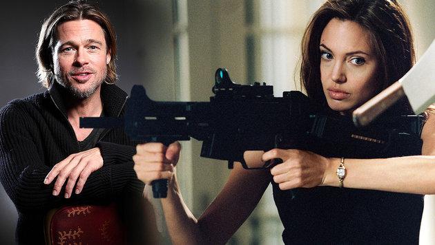 "Ex-Security: ""Angelina hätte Brad totgeprügelt"" (Bild: face to face, AP)"
