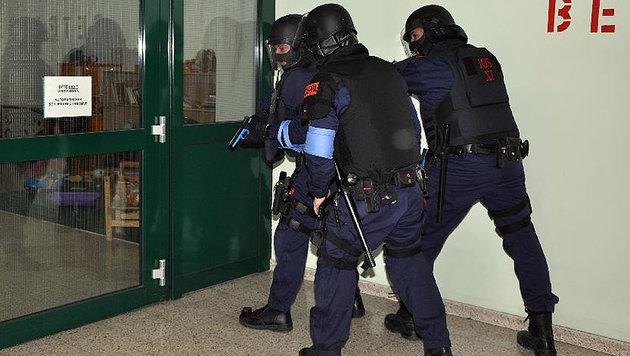 Das Übungsszenario: Eine Geiselnahme samt Bombendrohung in der Wiener Justizanstalt Josefstadt (Bild: Justizanstalt Wien-Josefstadt)