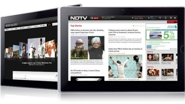Indien ordnet Sendepause für TV-Kanal an (Bild: NDTV)