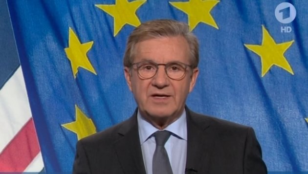 Jan Hofer kurz vor seinem unfreiwilligen Abgang (Bild: Tagesthemen, YouTube.com)