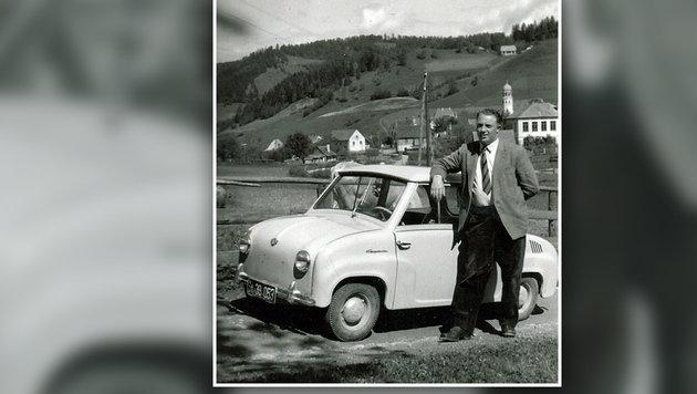 Dieses Foto wurde im Nachlass von Christine Schneeberger gefunden. Wer kennt diesen Mann? (Bild: zVg)