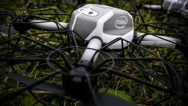 Intel lässt Mega-Schwarm aus 500 Drohnen los (Bild: Intel/P.Horlbeck)