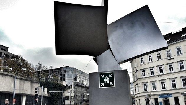 """""""Das Grusel-Grätzl im Nobelbezirk Alsergrund (Bild: zet)"""""""