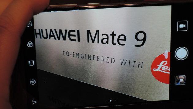 """""""Keine Explosionen"""": Huawei enthüllt Mate 9 (Bild: ser, krone.at)"""