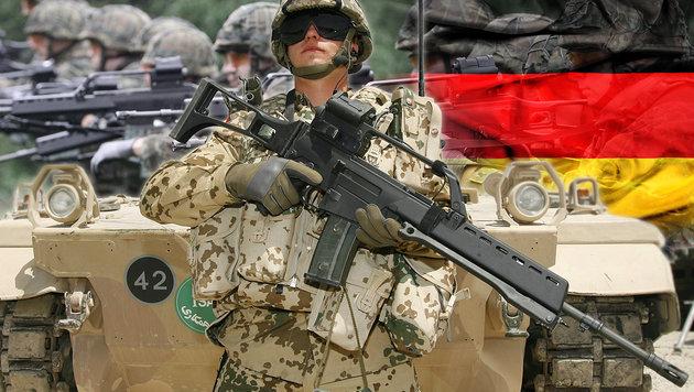 20 Islamisten in deutscher Armee enttarnt (Bild: EPA/MARTIN SCHUTT, EPA/MAURIZIOGAMBARINI, thinkstockphotos.de)