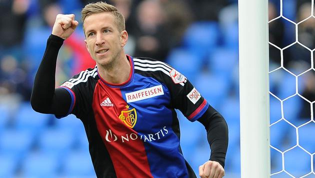 Marc Janko erzielt Siegestor für FC Basel (Bild: GEPA)
