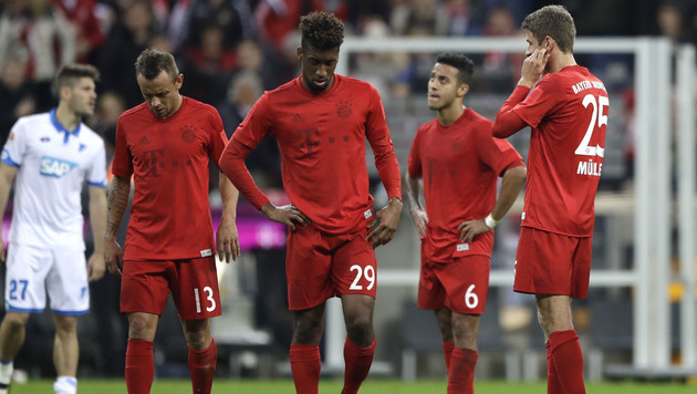 Nur 1:1! Bayern stolpert gegen Hoffenheim (Bild: AP)