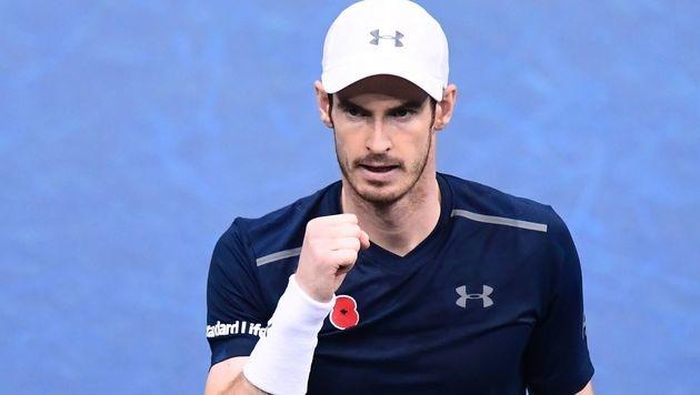 Raonic verletzt! Murray ist die neue Nummer eins (Bild: AFP)