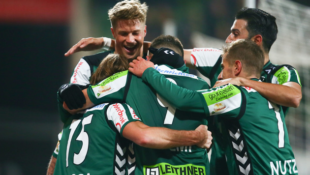 Ried feiert glücklichen 2:1-Sieg gegen Admira (Bild: GEPA)