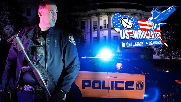 US-Behörden warnen vor Anschlägen rund um Wahl (Bild: AP, thinkstockphotos.de)