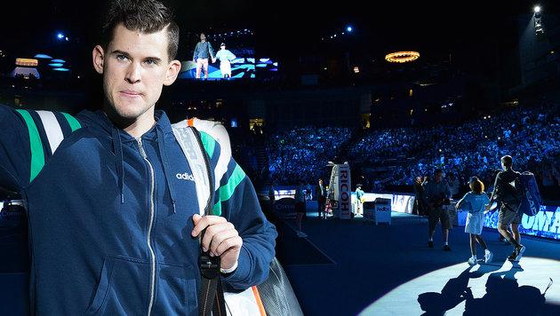 Siiiiiieg! Thiem entzaubert Monfils bei ATP Finals (Bild: APA/GEORG HOCHMUTH, AFP)