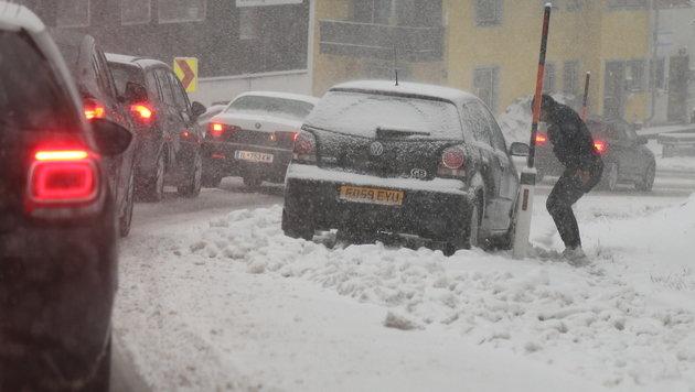 Wintereinbruch steht im ganzen Land bevor (Bild: Christof Birbaumer)
