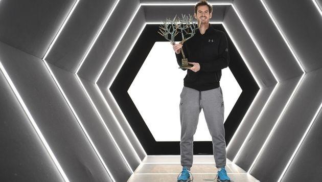 Andy Murray untermauert Nummer-1-Position (Bild: AFP)