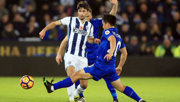Leicester City und Fuchs unterliegen West Bromwich (Bild: AP)