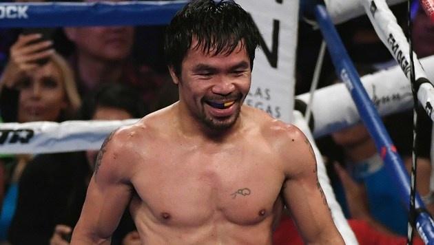 Manny Pacquiao (Bild: AFP)