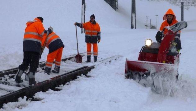 """Tief """"Husch"""" bringt den ersten winterlichen Gruß (Bild: ÖBB (Symbolbild))"""