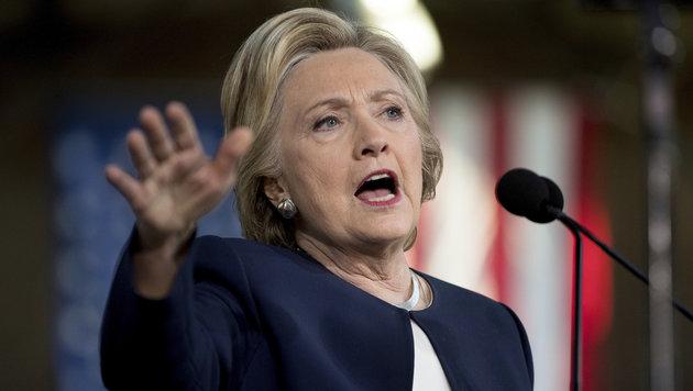 Trump vs. Clinton: So hart lief der US-Wahlkampf (Bild: AP)