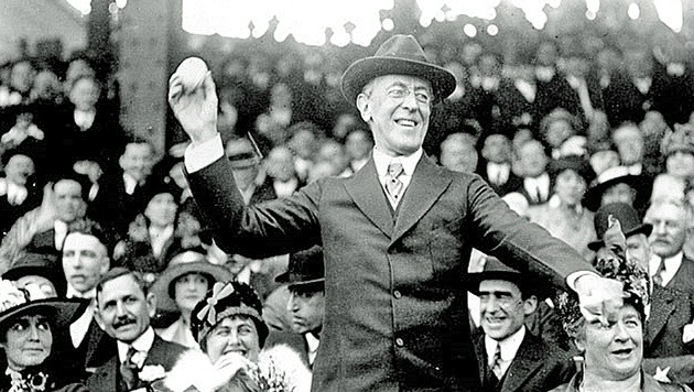US-Präsident Woodrow Wilson (Bild: Screenshot/Wikipedia)