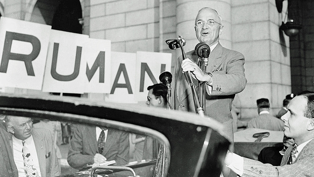 US-Präsident Harry S. Truman (Bild: Screenshot/Wikipedia)