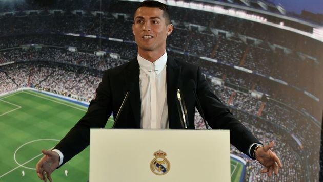 """Ballon d""""Or für Cristiano Ronaldo (Bild: AFP)"""