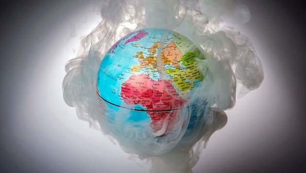 Klimakonferenz: Weiter Kampf gegen Erderwärmung (Bild: APA/AFP/LIONEL BONAVENTURE)