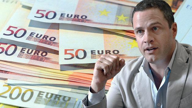 Wiens Vizebürgermeister Johann Gudenus von der FPÖ sieht in  Sachen Mindestsicherung schwarz. (Bild: APA/HANS KLAUS TECHT, APA/dpa/Federico Gambarini)