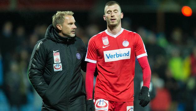 """""""Schlechtestes Spiel, seit ich bei Austria bin"""" (Bild: APA/DIETMAR STIPLOVSEK)"""