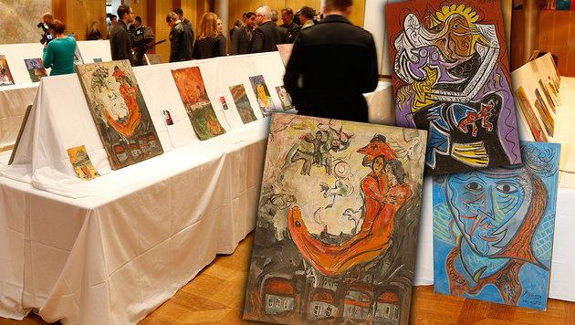 Fingierter Deal: Kunstfälscher in Falle getappt (Bild: Reinhard Holl)