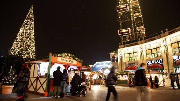 """""""Alles zum Wintermarkt am Riesenradplatz! (Bild: Winterzauber Prater)"""""""