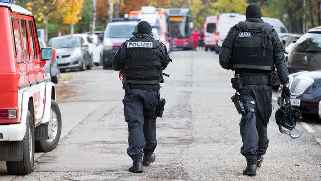 Anti-Terror-Einsatz in Wien: Iraker angezeigt (Bild: APA/GEORG HOCHMUTH)
