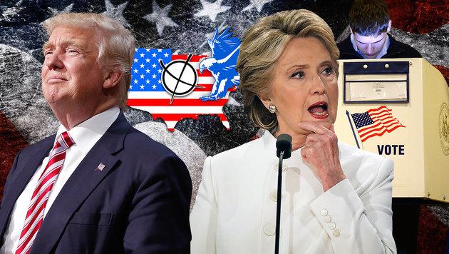 """""""Trump wäre auch nicht schlechter als die anderen"""" (Bild: AP, APA/AFP/ROBYN BECK, thinkstockphotos.de)"""