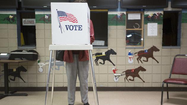 Trump: Wahlfälschung in mehreren US-Staaten (Bild: ASSOCIATED PRESS)