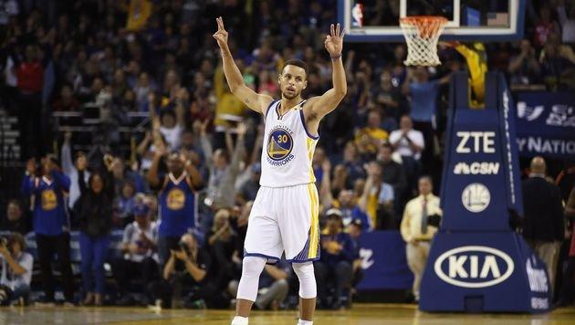 Currys NBA-Rekord: So viele Dreier wie noch nie! (Bild: Getty Images)