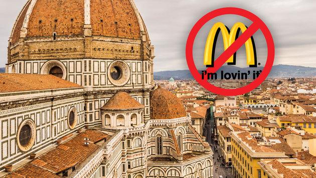 "McDonald""s klagt Florenz: 18 Mio. € Schadenersatz (Bild: thinkstockphotos.de)"