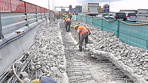 Praterbrücken-Chaos: Mega-Pleite der Baufirma (Bild: Asfinag)