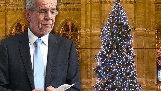"""Van der Bellen """"sicher nicht für Christbaumverbot"""" (Bild: thinkstockphotos.de, APA/HELMUT FOHRINGER)"""