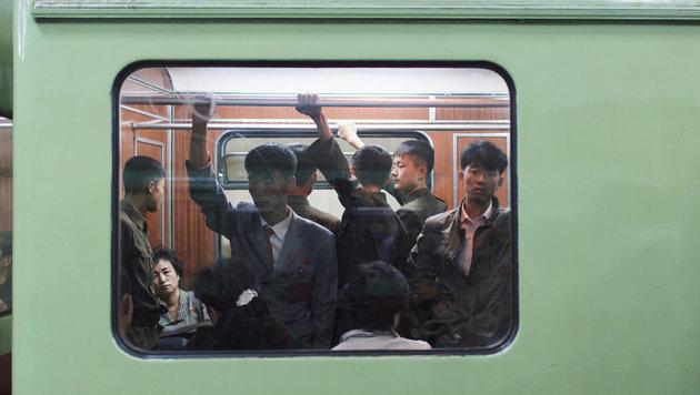 Rare Einblicke: Das ist Nordkoreas U-Bahn-System (Bild: Elaine Li)