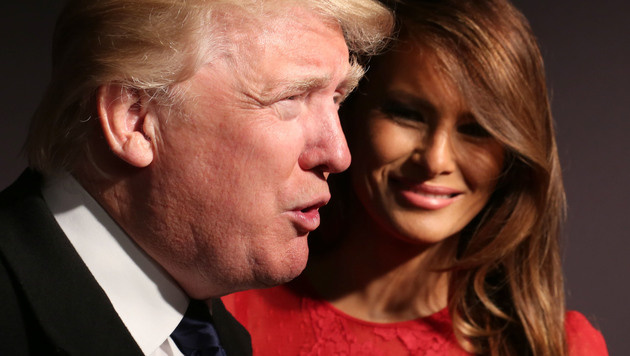Donald und Melania Trump (Bild: McBride/face to face)