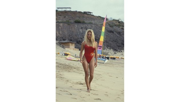 "Pamela Anderson in ""Baywatch"" (Bild: Peter Clay/face to face)"