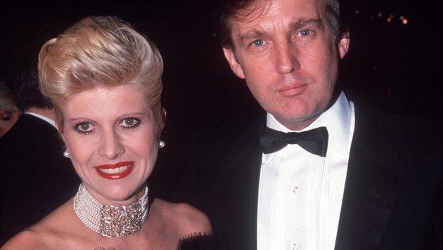 Ivana und Donald Trump (Bild: Viennareport)