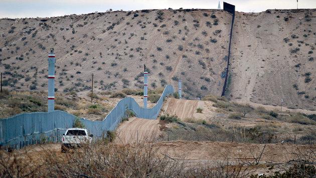 Grenze zwischen den USA und Mexiko (Bild: AP)