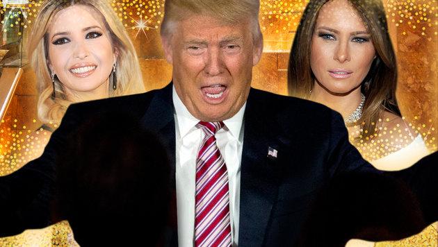 Das ist das Leben des Donald Trump (Bild: AP, face to face)