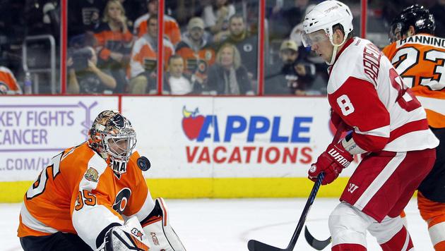 Detroit beendet Negativ-Serie mit 3:2 gegen Flyers (Bild: AP)